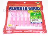 エコギア キジハタグラブ -  4インチ #158 スーパーホログラム/ピンクグロウ 4インチ 魚粉入り