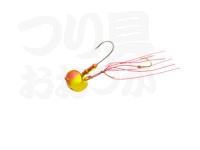 マルキュー エコギア オーバルテンヤ - オーバルフックLフック 5号 T04 ゴールドレッド 5号(18g) フックサイズL