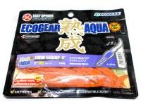 エコギア エコギア熟成アクア - スイムシュリンプ 4インチ #J02 赤イソメ 4インチ