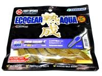 エコギア エコギア熟成アクア - スイムシュリンプ 4インチ #J03 青イソメ 4インチ
