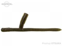 ノリーズ サンカクティーサン - 4インチ サンカクコティーサン #317 ライトグリーンパンプキンブルーフレーク 4インチ 103mm