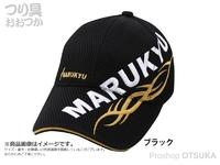 マルキュー トライバルメッシュキャップ02 - ブラックL  Lサイズ