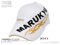 マルキュー トライバルメッシュキャップ02 - ホワイトL  Lサイズ