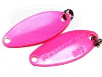 ゴーセン ファータ レゾネーター - レゾネーターSP スリム 0.9g 蛍光ピンク 22mm 0.9g