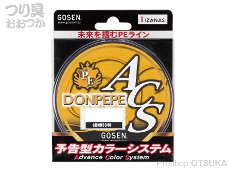 ゴーセン ドンペペ ACS ドンペペ ACS 300m 4号