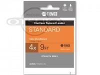 ティムコ ノットレステーパーリーダー -  スタンダード #クリア 4X 7.5ft