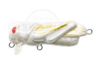 ティムコ トリックトラウトシリーズ - バッタロウ #TTB-006 シロバッタ 35mm 1.8g フローティング