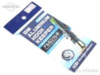 ゴールデンミーン GMフックキーパー - GMアルミフックキーパー #シルバー アルミニウム製