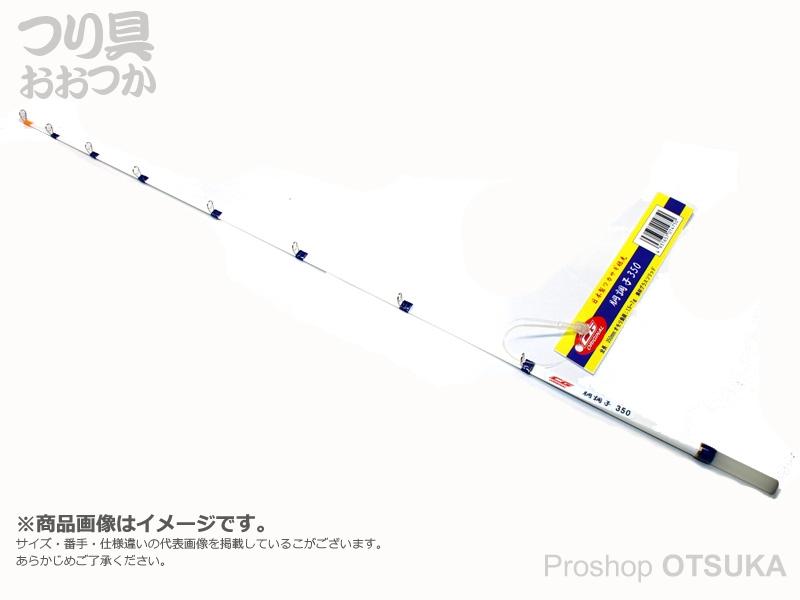 中央漁具 CGワカサギ穂先 胴調子 全長350mm 錘負荷1.5-7g