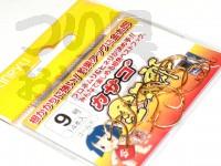 金龍鈎 カサゴ金太郎 - 小袋 ゴールド 9号