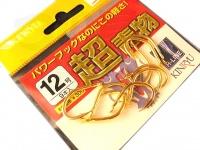 金龍鈎 超青物 - 小袋 ゴールド 12号