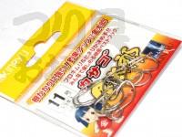 金龍鈎 カサゴ金太郎 - 小袋 シルバー 11号
