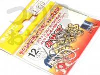 金龍鈎 カサゴ金太郎 - 小袋 シルバー 12号