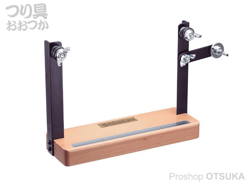 シミズ 仕掛け編み付け器 仕掛け編み付け器BD 台座:木製 支柱:アルミニウム
