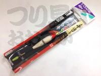 ささめ針 とうがらしトップウキ - PA311  サイズ:L オモリ負荷:ガン玉2B