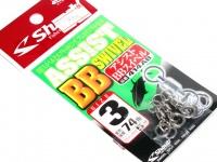 シャウト アシストBBスイベル - 414AB  サイズ #3 変形強度74lb