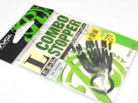 リューギ コンボストッパー - ZCS009 #ブラック サイズL 適合16-30lb