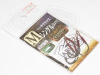 ささめ針 アルシサクラマス フッ素 - N-303 #TCブラック Mサイズ シングルフック