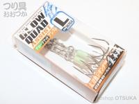 ささめ針 シャウト グロークアッドアシスト - 367GA  Lサイズ