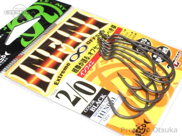 リューギ インフィニ HIN-051 #2/0 #ブラック