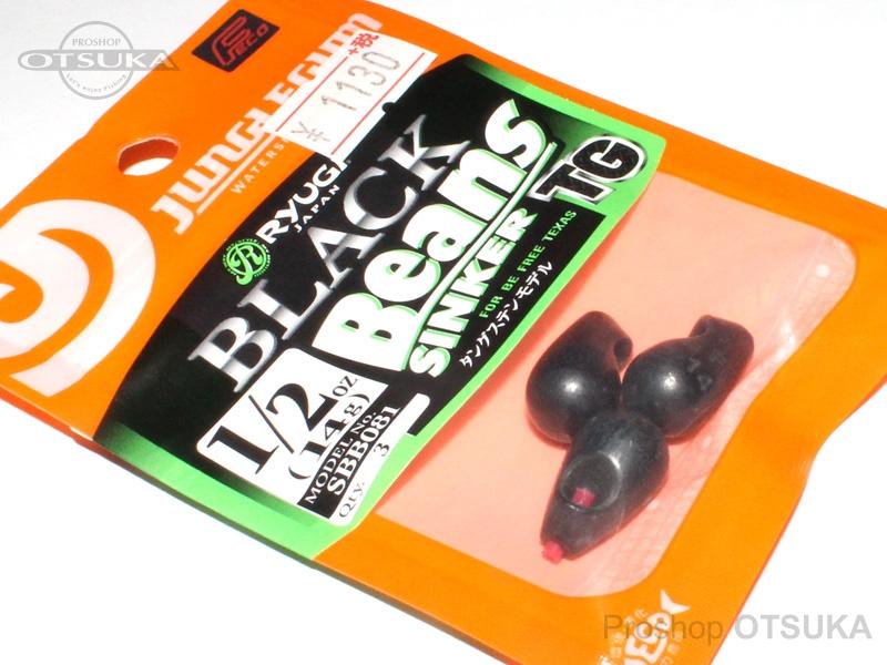 リューギ ビーンズ ブラックビーンズTG 1/2oz Feco対応品 #ブラック