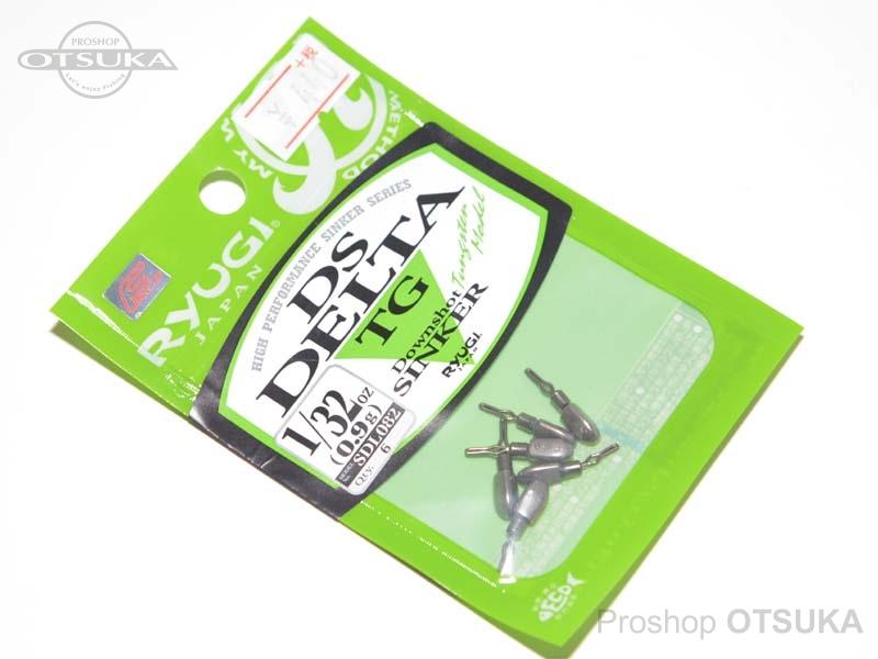 リューギ DSデルタ TG ダウンショットシンカー SLD082 1/32oz 0.9g -