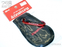 キザクラ Kzミニフィンガータオル - - #ブラック W75×H125mm