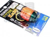 キザクラ IDR ザ・ナイト - KZ25 #オレンジ B 自重12.4g ケミ25ダブル装着