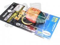 キザクラ IDR ザ・ナイト - KZ25 #オレンジ 0.5号 自重10.5g ケミ25ダブル装着