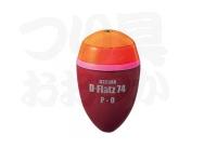 キザクラ D-フラッツ74 -  #オレンジ P-02 9.45g