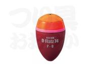 キザクラ D-フラッツ74 -  #オレンジ P-01 9.35g