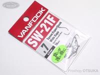 ヴァンフック スプーンエキスパートフック - ヴァンフック エキスパートフック SW-21F #フッ素ブラック サイズ#7 フッ素コート