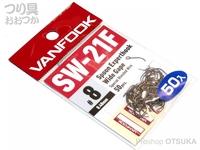ヴァンフック スプーンエキスパートフック - ヴァンフック エキスパートフック SW-21F #フッ素ブラック サイズ#8 フッ素コート