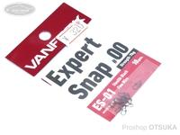 ヴァンフック エキスパートスナップ - ES-01 #ブラック #00 強度7kg