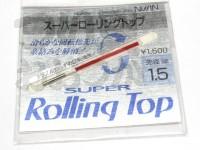 宇崎日新 スーパーローリングトップ - -  1.5mm