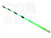 宇崎日新 W扁平ソリッドG付グリーン - 180mm ガイド付 18cm