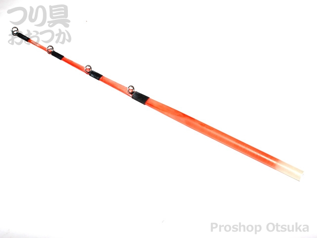 宇崎日新 W扁平ソリッドG付オレンジ 180mm 18cm ガイド付
