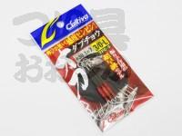 オーナー アシストフック - 太刀魚ジグチラシ - サイズ 3/0 ロング