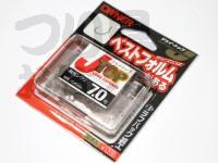 オーナー Jトップ - J-トップ ロングテーパード 針先シワリ 茶 7号