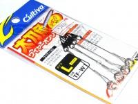 カルティバ アシストフックパーツ - TF-W1太刀魚ワイヤーオンリー  サイズ L