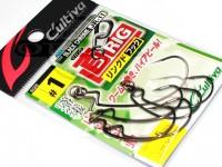 カルティバ ジカリグ リングドフック - JR-11 #ブラッククローム フックサイズ1
