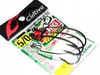カルティバ ジカリグ リングドフック - JR-11 #ブラッククローム フックサイズ5/0
