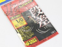 オーナー アシストフック - ジガーライト ホールド 段差モデル サイズ #1/0