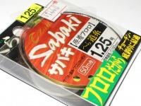 オーナー ザイト サバキヘラ - 道糸 フロロ 原着イエロー 1.25号