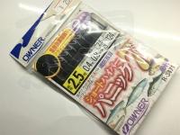 オーナー ショートハイパーパニック7 - R-3471  細袖2.5号ハリス0.4号幹糸0.8号