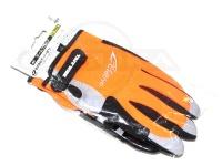 オーナー ゲームグローブ - 9918 オレンジ サイズ LL