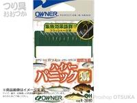 オーナー ハイパーパニック狐 - R-3690 #金鈎×3本 茶鈎×4本 2.5号 ハリスフロロ0.3号 幹糸0.4号