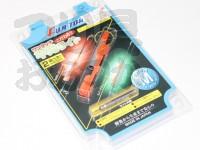 富士灯器 ワンタッチ竿先ライト - M - 投げ竿用 適合サイズ・2.5-3.0mm