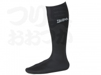 ダイワ ダイワウェットネオソックス(先丸) - NS310R(W) #ブラック Mサイズ