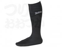 ダイワ ダイワウェットネオソックス(先丸) - NS310R(W) #ブラック Lサイズ